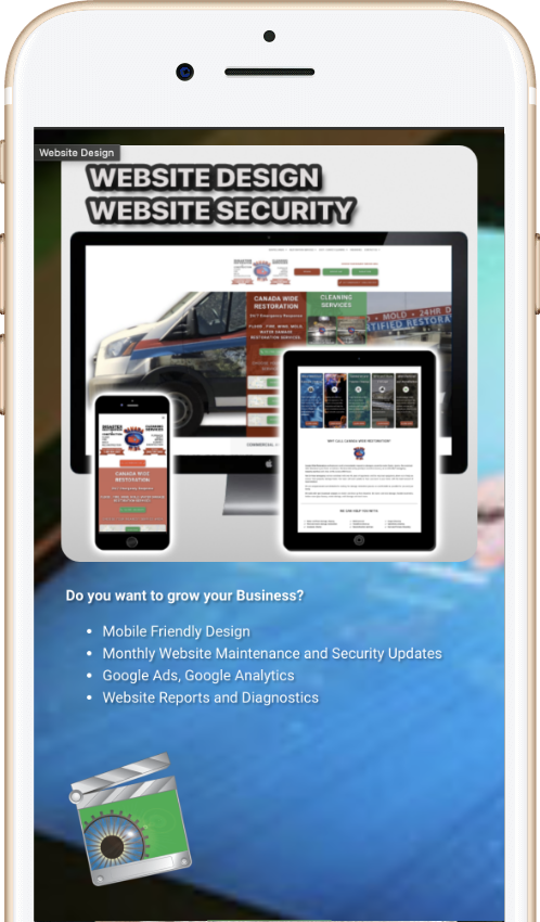 VisionStudios Mobile Friendly website design on Vancouver Island